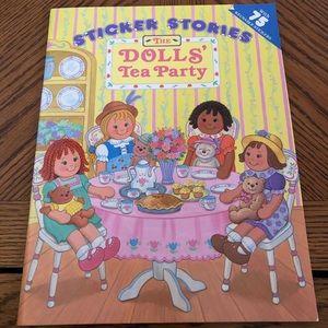 Dolls Sticker Activity Book